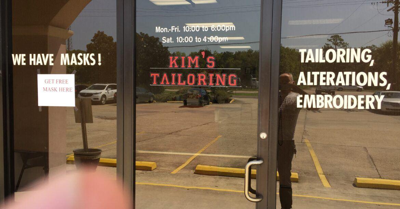 Kim's Tailoring store