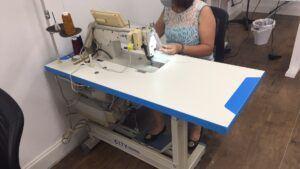The DDL 8700 Juki sewing machine